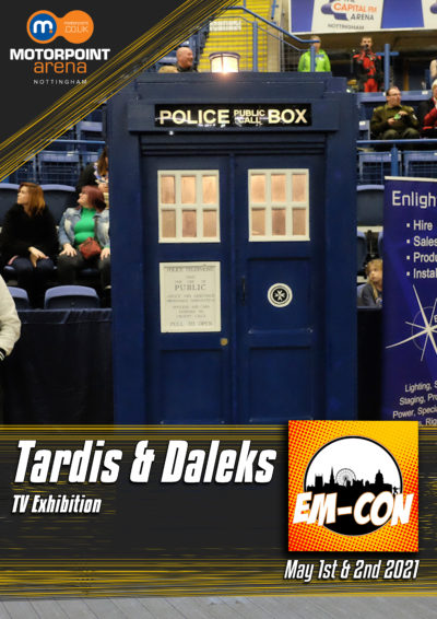 The Tardis & Dalek
